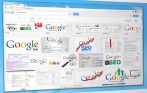 A Google image search results page.