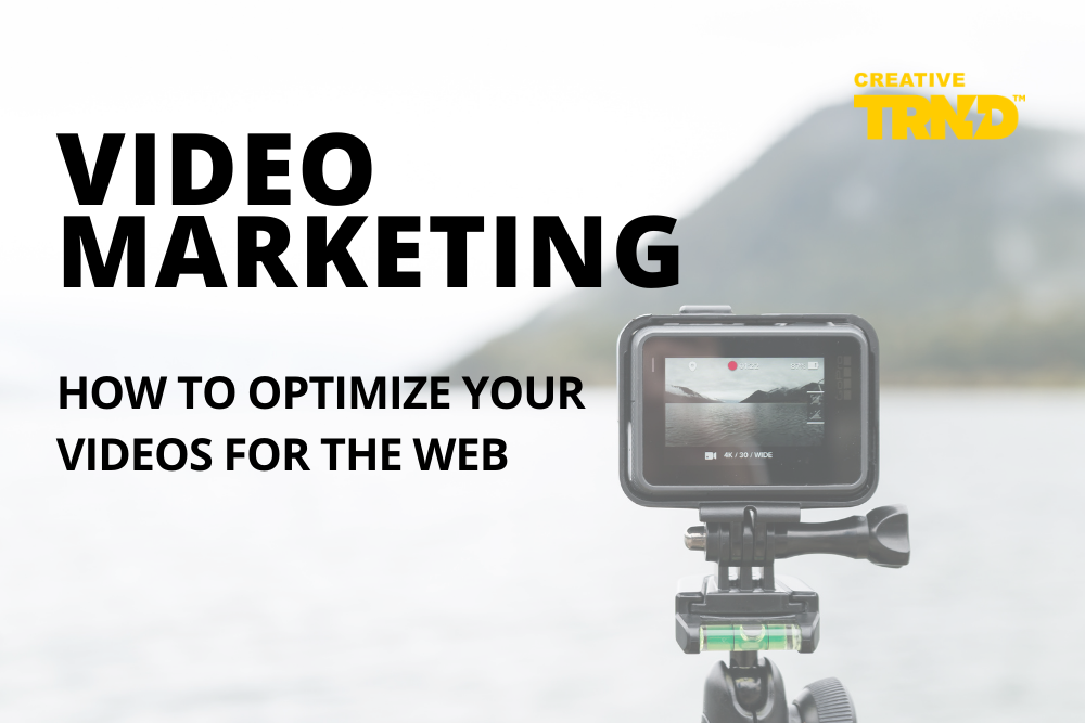How to optimize videos for the web