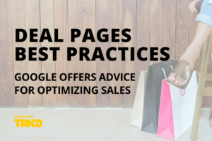 DEAL PAGES BEST PRACTICES