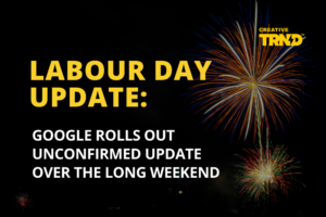 LABOUR DAY UPDATE